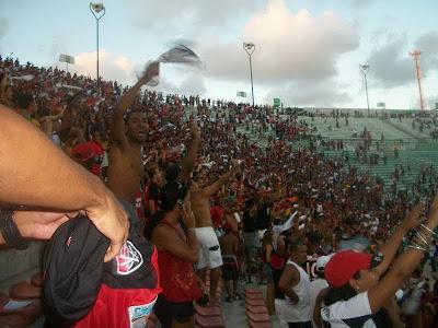 Foto: Torcida do Vitória no BAVI
