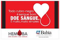 Doação de sangue - HEMOBA
