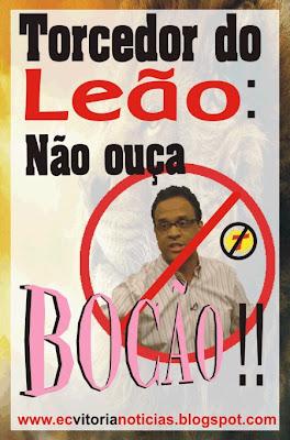 Torcedor do Leão: não ouça Bocão!