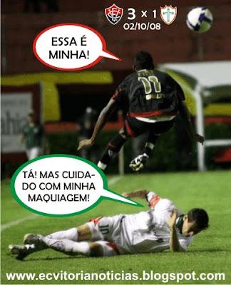 Vitória vence por 3x1 contra a Portuguesa