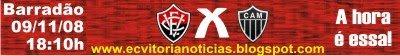 Vitória x Atlético-MG 09/11/08 no Barradão