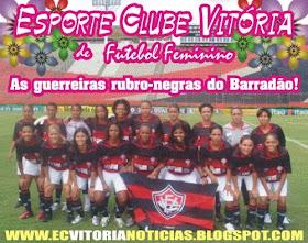 Futebol Feminino do Esporte Clube Vitória
