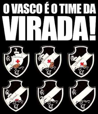 Vasco é o time da virada
