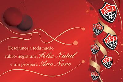 Feliz Natal e Ótimo 2009 para todos os Rubro-Negros