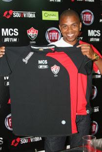 Foto da nova camisa do Vitória 2009 - Champs - padrão 3