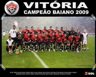 Vitória Campeão Baiano 2009