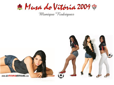 Papel de Parede da Musa do Vitória 2009