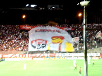 Foto: Bandeirão do Camisa 12 do Vitória