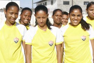 Foto: Time feminino do Vitória