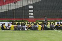 Reunião no treino