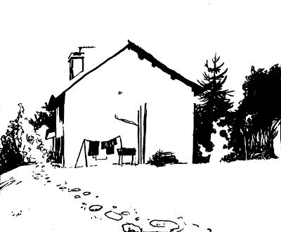croquis maison