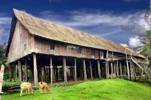 Rumah adat Provinsi Kalimantan Tengah