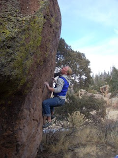 Bouldering in San Luis Valley