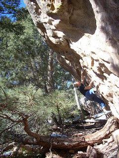 Bouldering Shadow Canyon Colorado