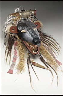 Wiyot Native American Indian Bear Mask
