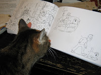 Reading Simon's Cat by Simon Tofield with Cairo