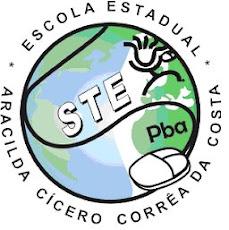 Logotipo da STE da Escola Aracilda