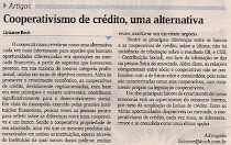 Cooperativa de Crédito, uma alternativa