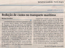 Redução dos custos do transporte marítimo