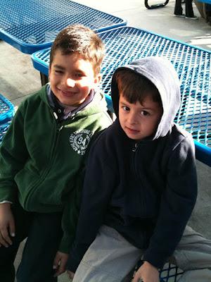 Fabian and Alex