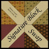 Signature block swap