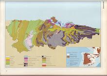 Mapa geológico de Asturias