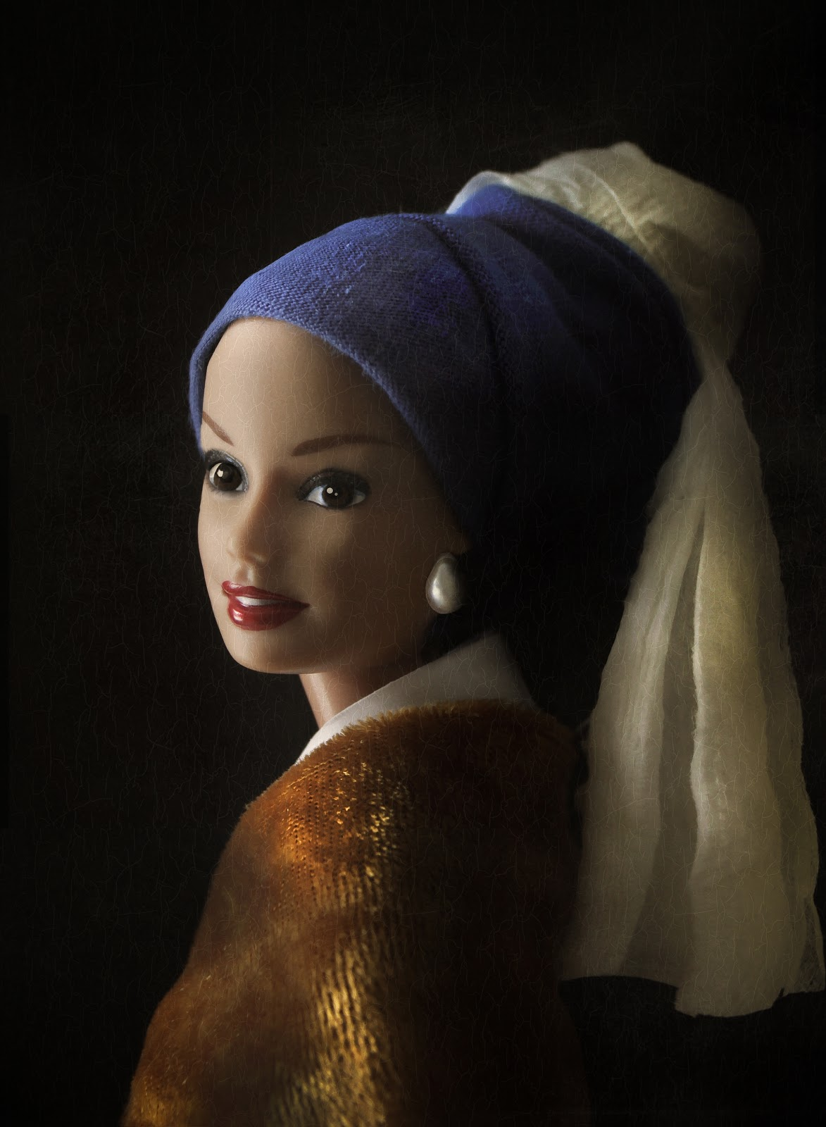 Alberti S Window Barbie In Fine Art