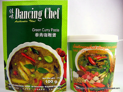 Dancing Chef and Mae Ploy Brand Thai Green Curry Pastes