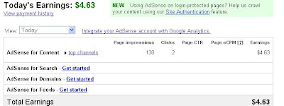 adsense revenue report