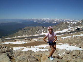 "Clearly my ""muscles"" disappear at high altitude!"