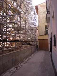 Detalle del palacio de la calle San Torcuato de Calatayud