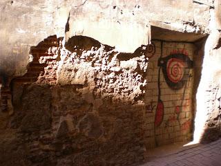 Detalle casa en calle Gracián de Calatayud