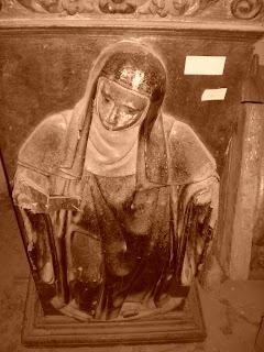 Detalle del retablo de la iglesia de san Benito de Calatayud