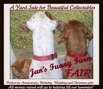 Visit Jan's Funny Farm Yard Sale!