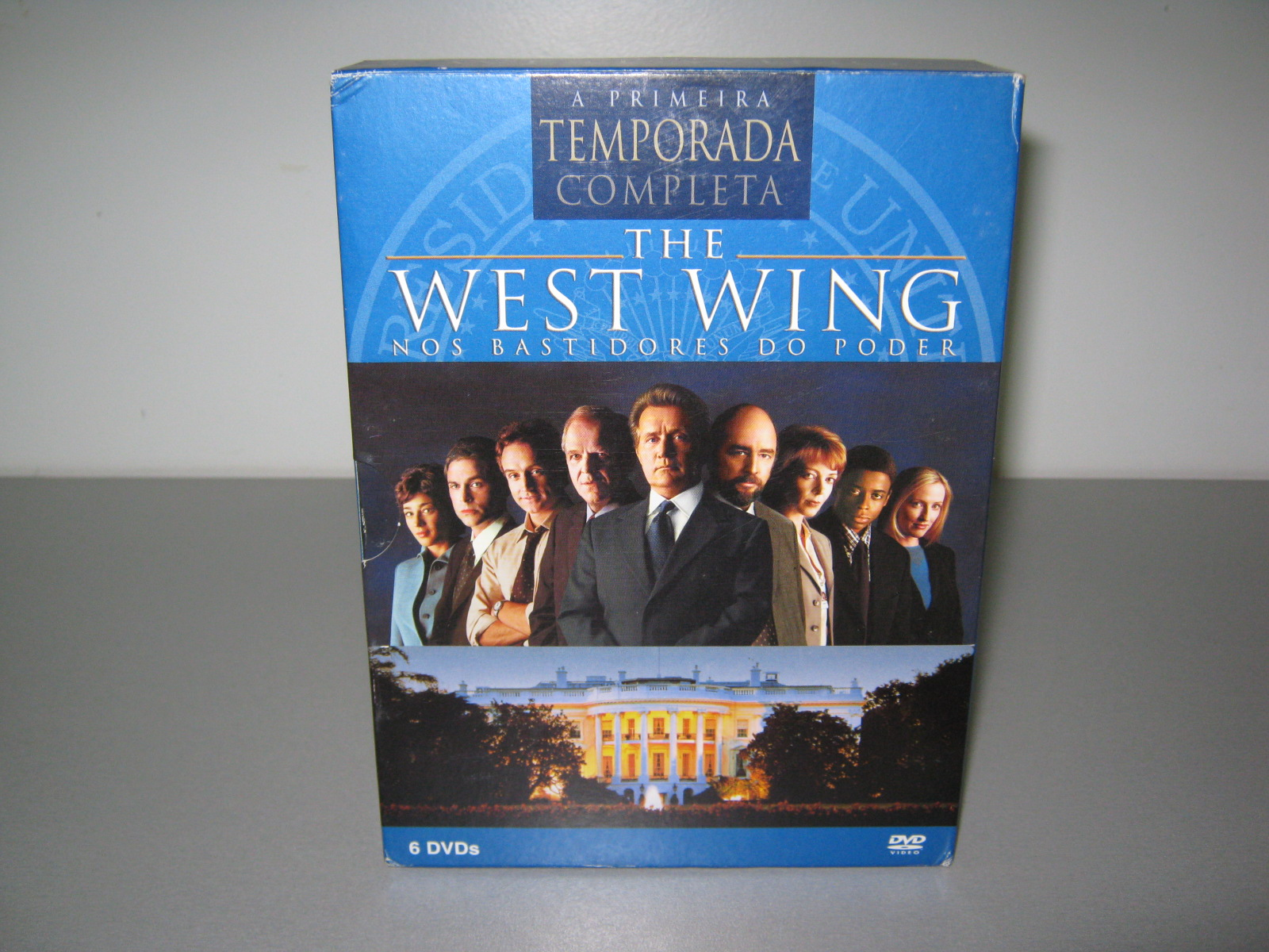 rafael f 39 s dvd bd collection west wing the a primeira temporada completa. Black Bedroom Furniture Sets. Home Design Ideas