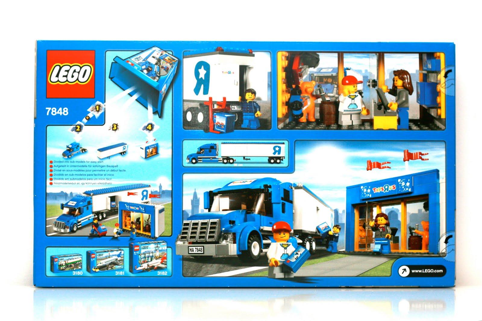 maniac des lego review lego city set 7848 camion toys. Black Bedroom Furniture Sets. Home Design Ideas