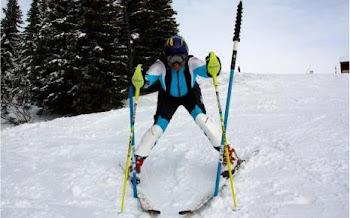 Le skieur haïtien qui veut participer aux Championnats du Monde