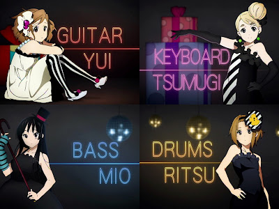 K-ON UNA SERIE MUY BUENA XD K-on1