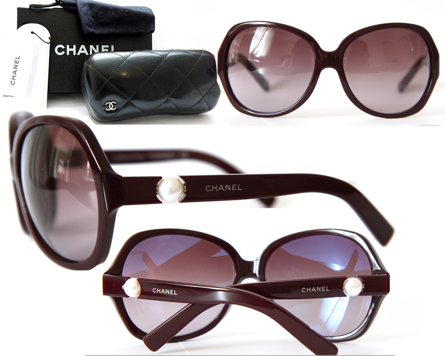 Chanel Eyeglass Frames With Pearls : Chanel Glasses Pearl