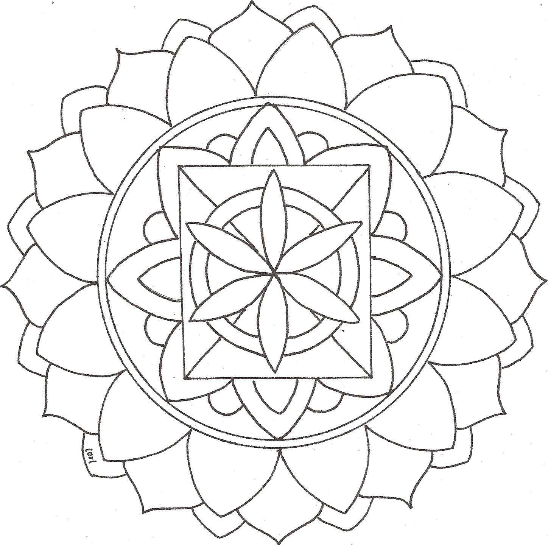 Mandalas para colorear | Florecimiento Humano