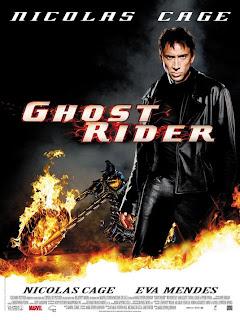 Poster de El vengador Fantasma con Nicolas Cage