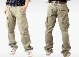 casual men cargo pants