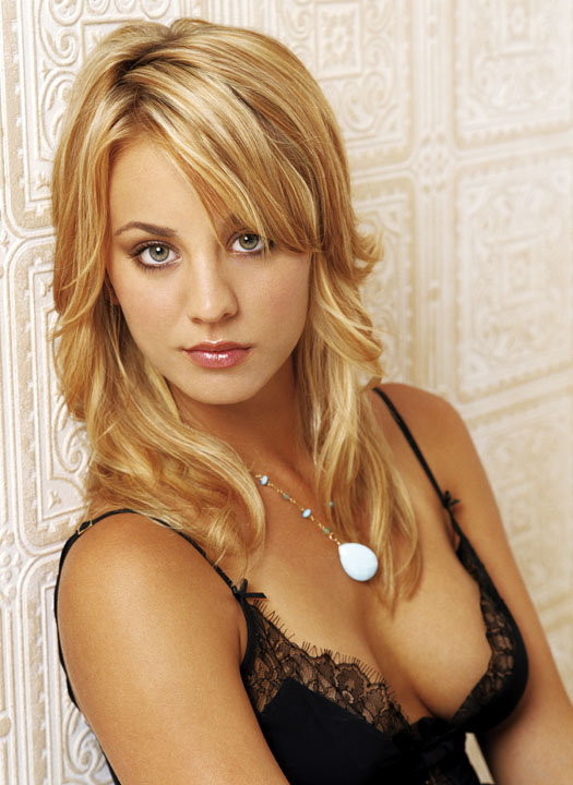 Kaley Cuoco from Big Bang