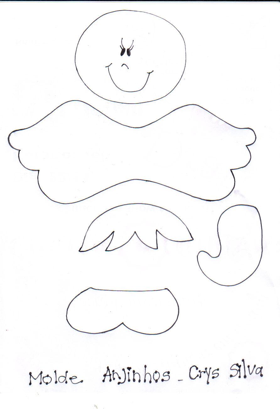 Moldes en fomi para bautizo de angeles newhairstylesformen2014 com