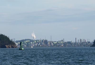 refinery in Puget Sound