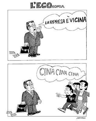 Giannelli - Corriere della Sera - Cina