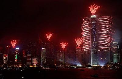Capodanno 2010 a Hong Kong, Cina