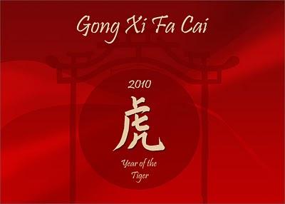 Capodanno cinese 2010: è l'anno della tigre!