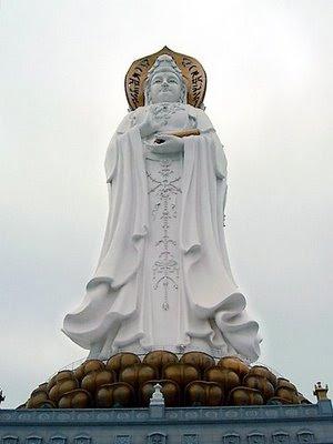 Nanshan Haishang Guanyin, Sanya, Hainan, Cina