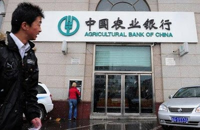 L'Agricultural Bank of China si quota in borsa a Shanghai e Hong Kong